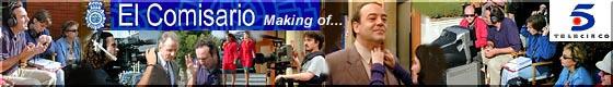 Making of...  El Comisario - Serie con Tito Valverde en Tele5