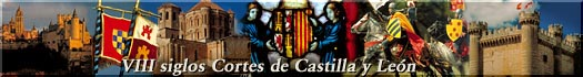 Multivisión  * VIII siglos Cortes de Castilla y León *  en la sede de Las Cortes - Castillo de Fuensaldaña