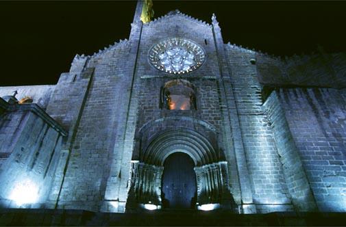 Catedral de plasencia cathedrals in spain image bank - Iluminacion exterior ...